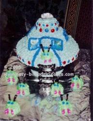 creative cakes - spaceship