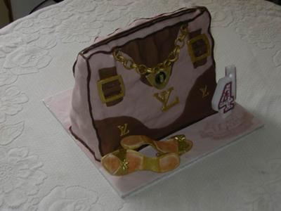 Designer Bag Birthday Cake
