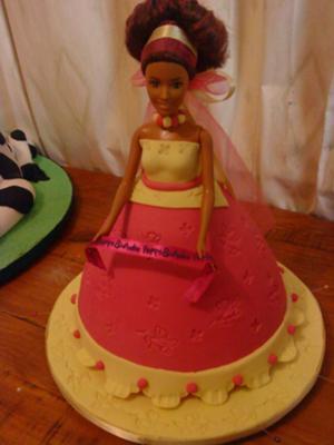 Doll Cake Show Cake 1