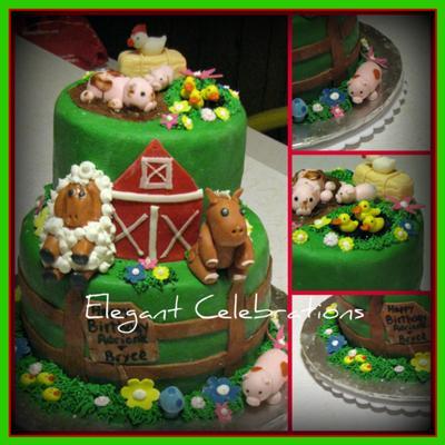 Down on the Farm Cake