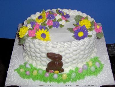 Easter Cake With Bunny