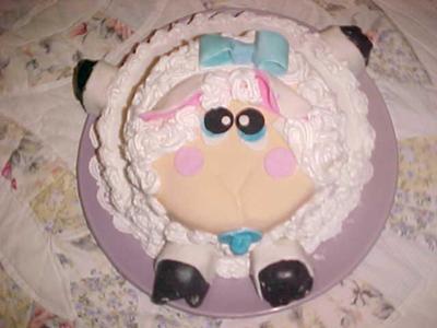easter lamb cake: dilber