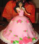 Elizabeth's Barbie Birthday Cake