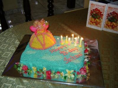 Fairy in Heaven Cake