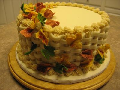 Fall Grooms Carrot Cake