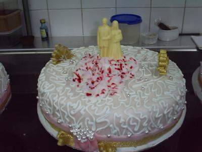 Class Florida Wedding Cake