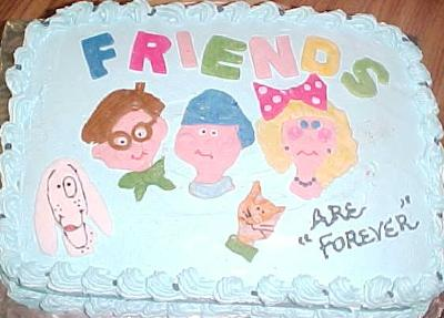 Swell Friends Are Forever Cake Funny Birthday Cards Online Chimdamsfinfo