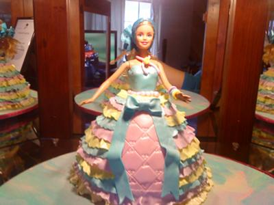 Frilly Doll Cake