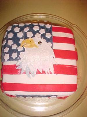 God Bless America Cake