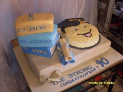 Graduation Cake by Atinuke Olusanya