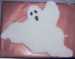 ghost halloween cake recipes