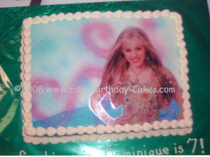 hannah montana cakes