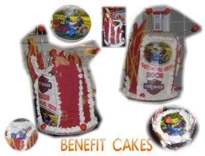 Harley Benifit Cakes