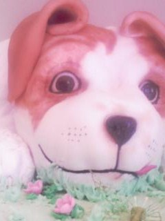 Jack Russell Puppy Cake