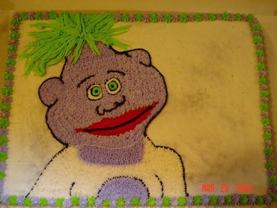 Jeff Dunham Peanut Cake