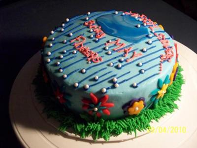 April Showers Cake