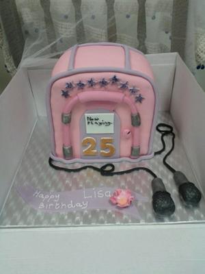 Kareoke Cake