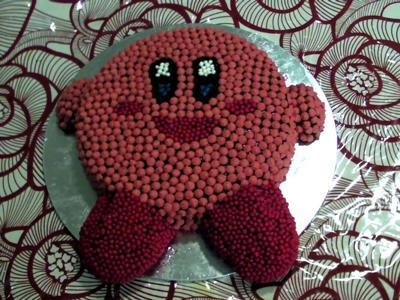 Cute Kirby Cake