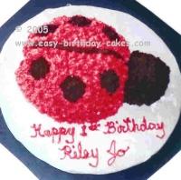 lady bug cake 2