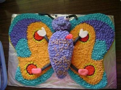 Layla's Butterfly Cake