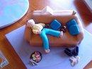 Lazy Dad Cake