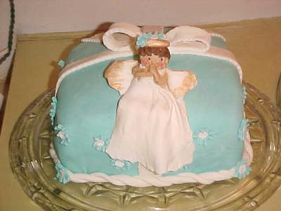Angel Birthday Cake Ideas Image Inspiration of Cake and Birthday