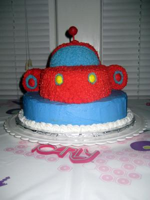 Little Einstein's Rocket Cake