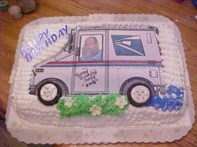 Wait a minute Mr. Postman Cake