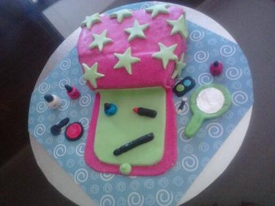 Make Up Purse Cake