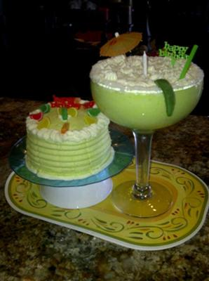 Margarita Birthday Cake