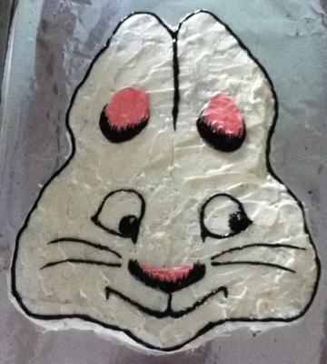 Finished Max cake!