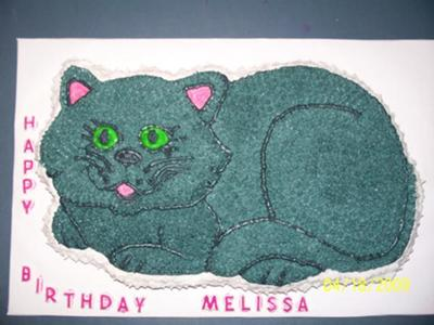 Melissa's Cat Cake