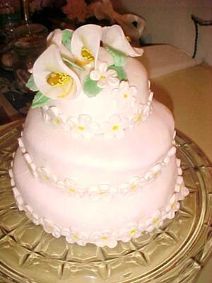 Miniature Wedding Cake