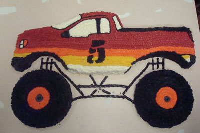 Monster Truck Cake Design Monster Truck Cake Pan