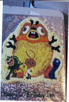 Monsters vs Aliens Cake