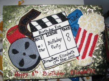 Swell Movie Cake A Fun Birthday Cake Funny Birthday Cards Online Alyptdamsfinfo