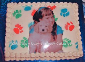 my doggie cake