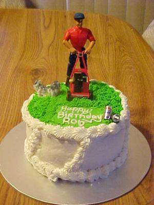 Yardman's Birthday Cake
