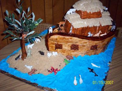 Noah S Ark Cake