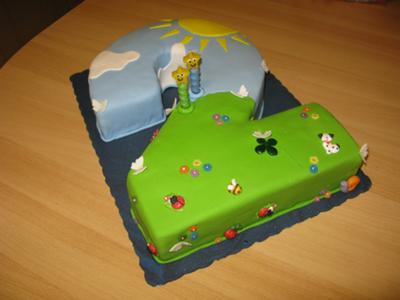 Number Two Cake
