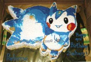 Pachirisu Cake