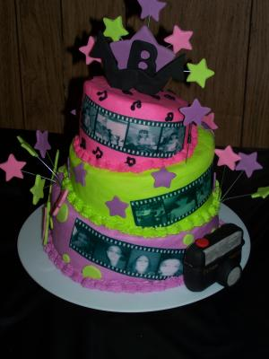 birthday cake fondant ideas