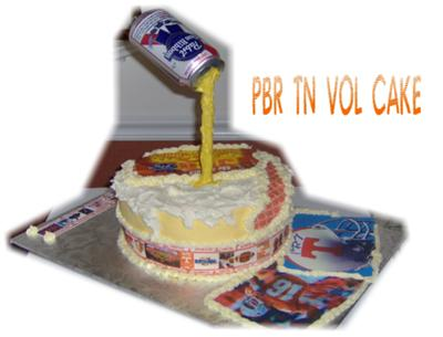 PBR and TN Vols Cake