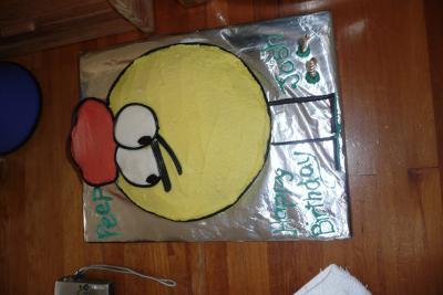 Peep and the Big Wide World Cake