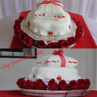 Pillow Love Cake