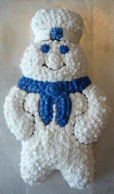 Pillsbury Doughboy Birthday Cake