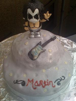 Planet Rock - Moon Based Cake