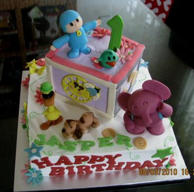 Pokoyo and Friends Cake