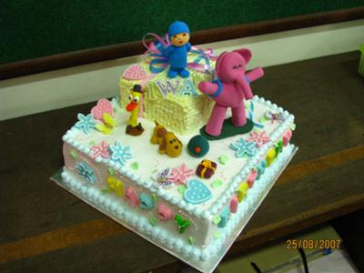 Pokoyo & Friends Birthday Cake