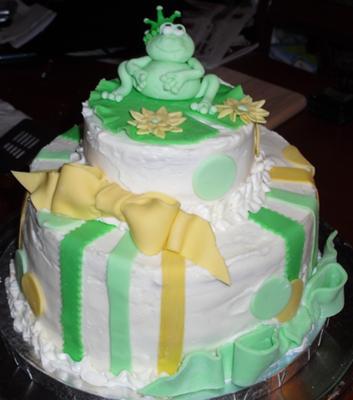 Prince Frog Cake
